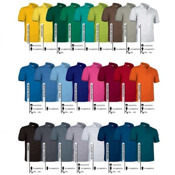 Polo shirts borduren